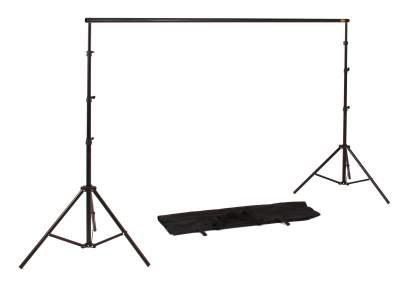 Fotobox - Stativ für Hintergrundsysteme