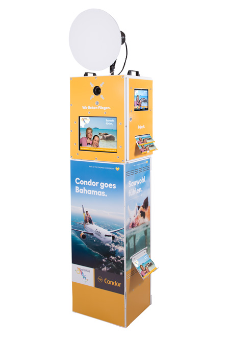 fotobox-tower-corporate-design-condor-bahamas